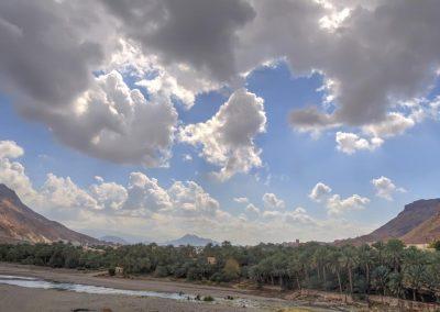 Wadi close to Samail