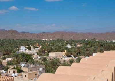 From the citadel of Nizwa Fort