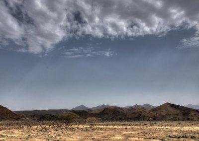 On the street to Al Awabi, close to Hibra