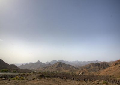 Beautiful mountains in the Oman